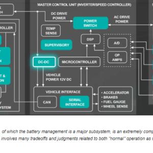 Battery Management, Connectors Key to EV/HEV Performance
