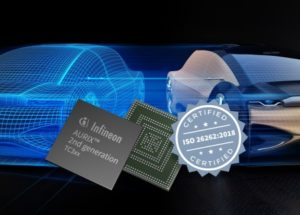 Safety in cars: Infineon's AURIX™ is the first embedded safety controller worldwide to be ASIL-D certified according to ISO 26262:2018