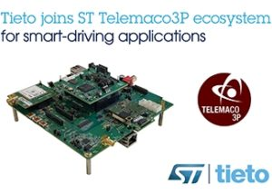 Tieto and STMicroelectronics Accelerate Development of Automotive Central Control Units for Safer and More Secure Vehicles
