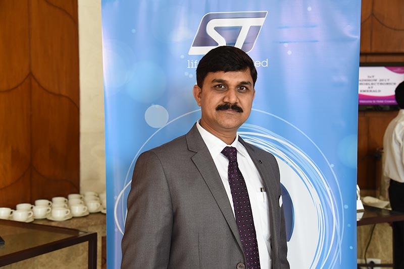 Mr. Vinay Thapliyal ,Technical Marketing Manager, MCD, INDIA, STMicroelectronics