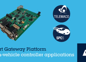 STMicroelectronics Launches Smart Gateway Platform for Automotive Gateway and Domain Controller Applications