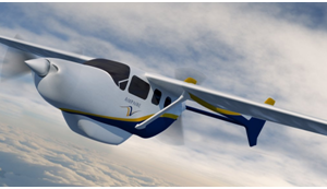 Ampaire powers air travel with environmentally-friendly, high-efficiency electric power systems