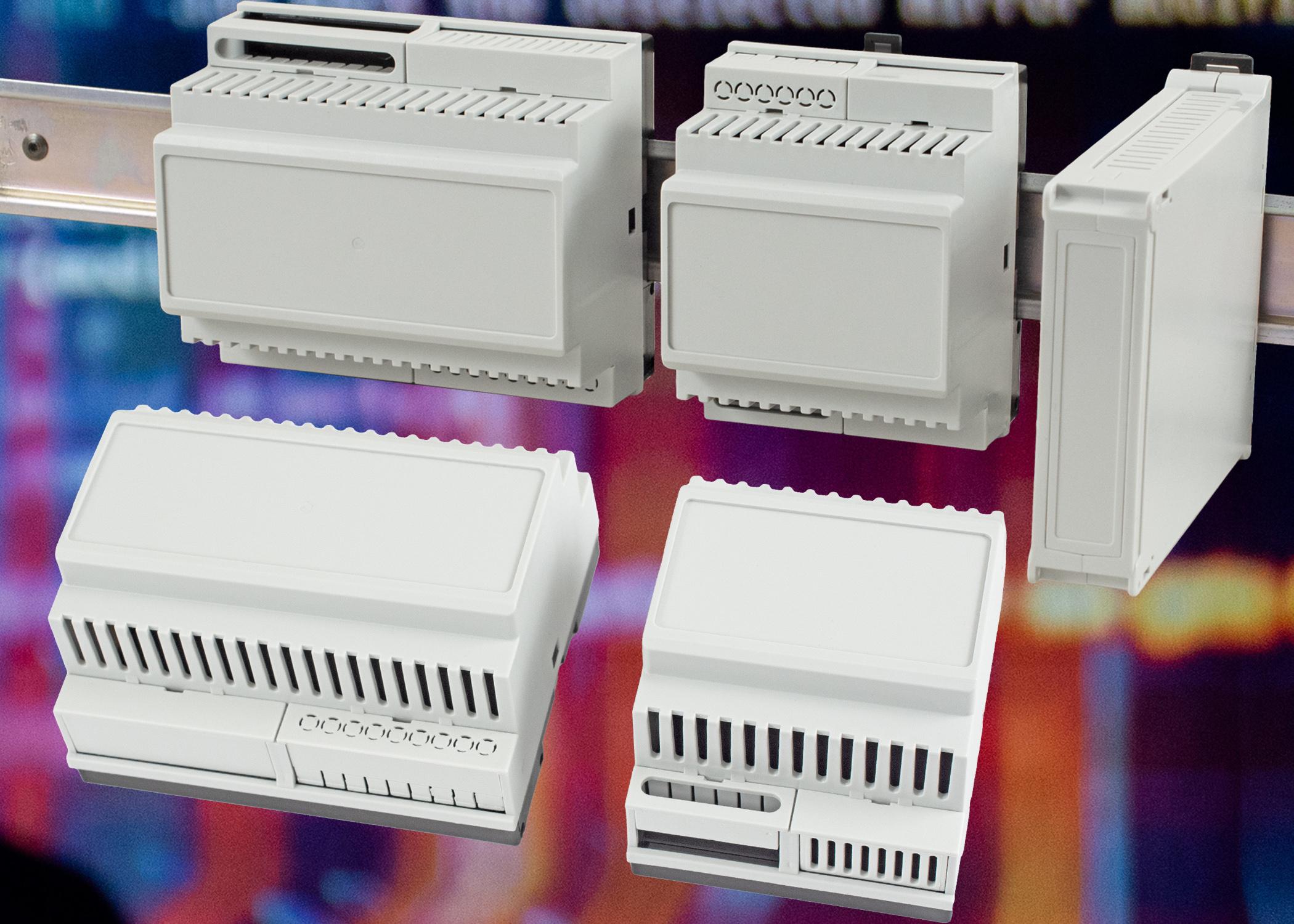 Caixas para trilho DIN Hammond - Electronics Maker 6
