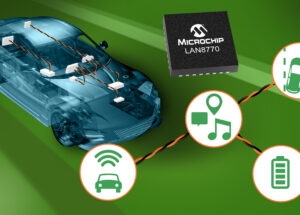 Single-pair Ethernet PHY Offers the Industry's Leading Ultra-low TC10-compliant Sleep Current and is Functional Safety Ready