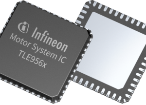 Motor System ICs from Infineon for control of small electric motors in cars offer a completely new level of integration