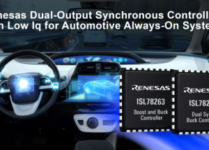 ISL78264 Dual Buck and ISL78263 Boost-Buck Controllers Draw Industry's Lowest 6µA Quiescent Current Under Light Load and Can Achieve 96% Power Efficiency