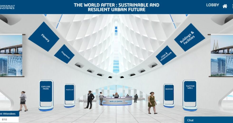 """Dassault Systèmes' Virtual Conference """"The World After – Sustainable and Resilient Urban Future"""" Showcases New Innovation Paradigms for Urban Planning and Infrastructure"""