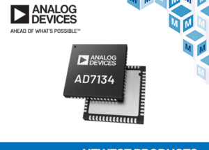 Analog Devices' AD7134 Precision Alias-Free ADC, Now at Mouser, Supports High-Performance Test and Measurement