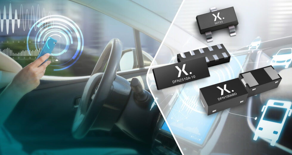 New automotive TrEOS ESD protection from Nexperia combines high signal integrity, low clamping voltage and high surge robustness