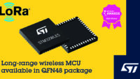 STMicroelectronics Expands Access to Market-Unique LoRa®-Enabled STM32WL SoC with 48-Pin Package Option