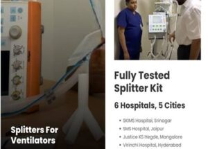 Covid India Campaign and Applied Materials India collaborate to create low-cost ventilator splitters to support medical communities during Covid-19 crisis