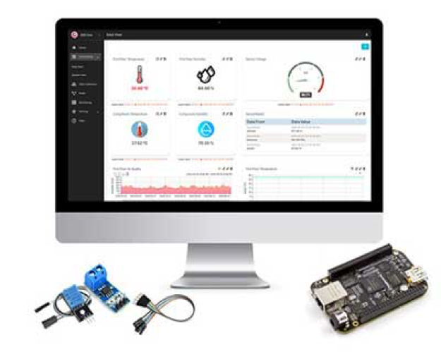 Digi-Key Electronics and Machinechat Announce Global Availability of Industry's Most Affordable Ready-to-Use IoT Data Management Solution for BeagleBone