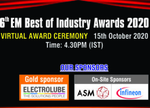 Save the Date – 6th EM Best of Industry Award winners to be announced Virtual on 15th Oct 2020