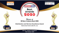 "Heilind Asia Pacific Wins the ""Distribution and Service Excellence Award 2020"""