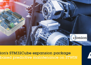 Octonion Releases Expansion Package Dedicated to AI-Based Industrial Condition Monitoring on STMicroelectronics STM32 MCUs